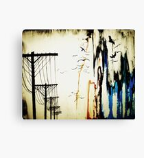 pylons Canvas Print