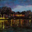 Luminous Night (pastel) by Niki Hilsabeck