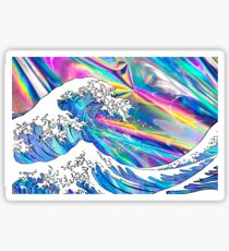Great Wave Holographic Sticker