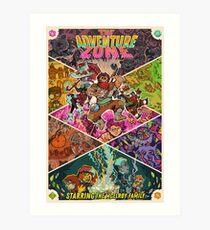 Adventure Zone Balance Poster Art Print