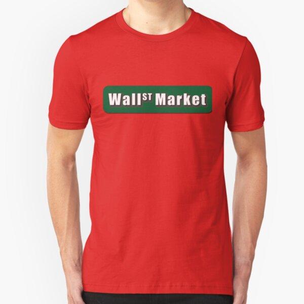 Wall Street Market Slim Fit T-Shirt