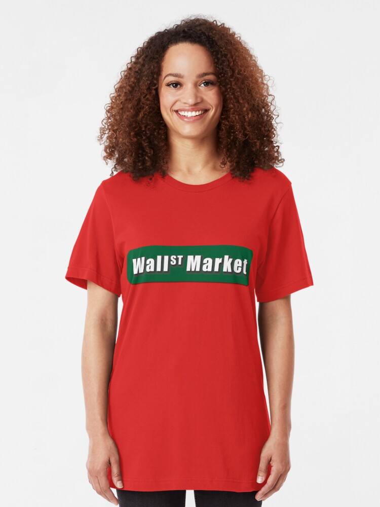 Alternate view of Wall Street Market Slim Fit T-Shirt