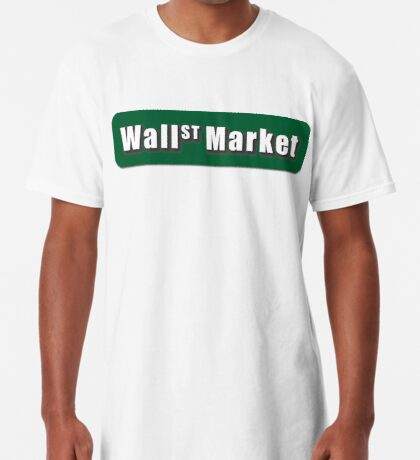 Wall Street Market Long T-Shirt