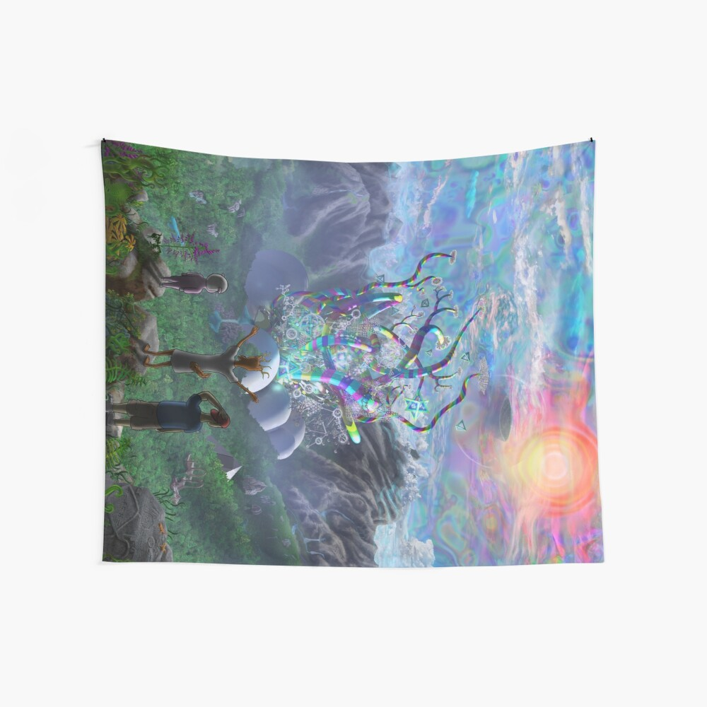 The Noodle Core Wall Tapestry