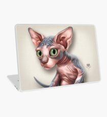 Katze-a-Clysm: Sphynx Kätzchen - Classic Laptop Folie