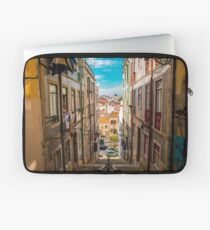 Alley in Lisbon Laptop Sleeve