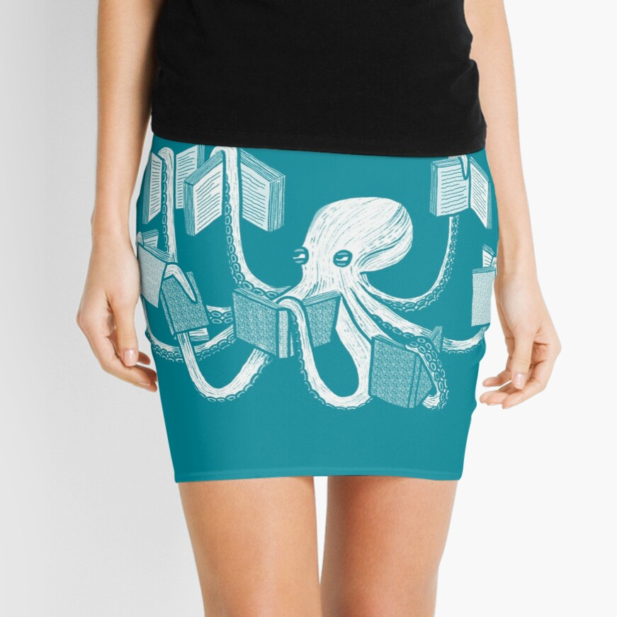 Armed With Knowledge Mini Skirt