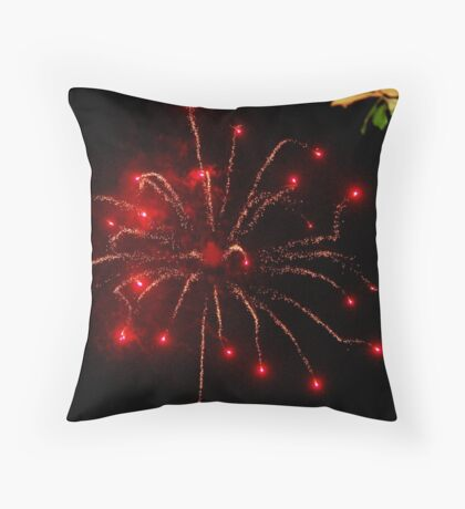 It was on 4.th July Throw Pillow