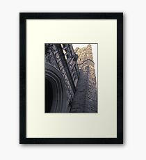 Holder Memorial Tower Framed Print