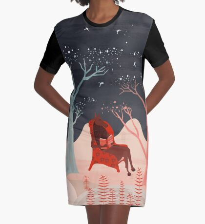 Human Nature  Graphic T-Shirt Dress