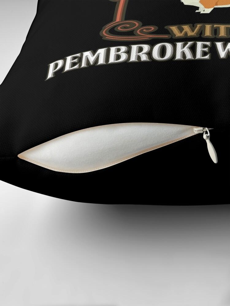 Alternative Ansicht von Pembroke Welsh Corgi Owner -  Never Under Estimate An Old Man With A Pembroke Welsh Corgi Bodenkissen