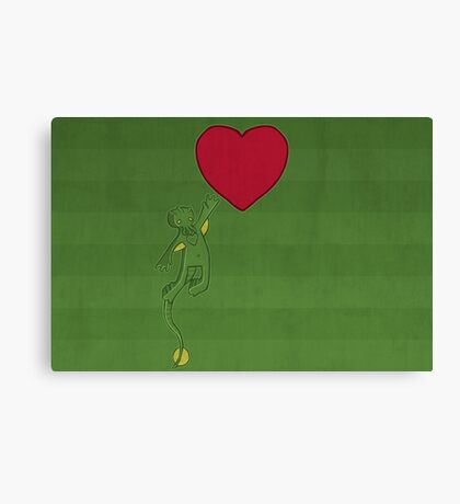 The Love of Cthulhu Canvas Print