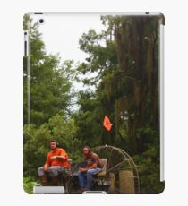 Airboat Riding iPad Case/Skin