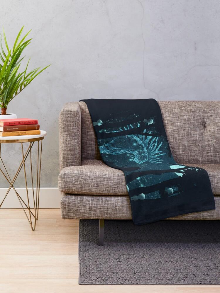 Alternate view of Lonely Spirit Throw Blanket