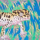 Leopardgecko Wirbelwind von AngelaDeRiso