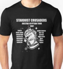 Camiseta ajustada Stardust Crusaders: Joestar Egyptian Tour 1987