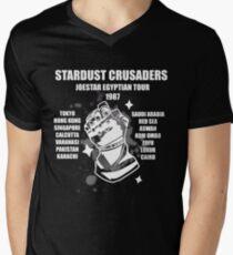 Stardust Crusaders: Joestar Egyptian Tour 1987 Men's V-Neck T-Shirt