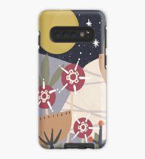 Star Field Meadow Floral Illustration Case/Skin for Samsung Galaxy