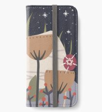 Star Field Meadow Floral Illustration iPhone Wallet/Case/Skin