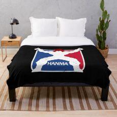 Hanma Sports Throw Blanket