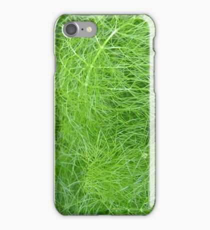 green fuzz (Komachi) iPhone Case/Skin