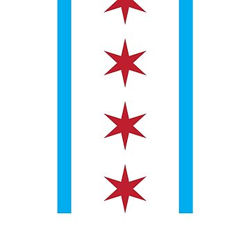 Chicago Stars & Stripes by jasonwitt
