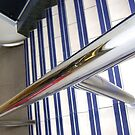 Abstract, stairs & rail by armadillozenith
