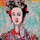 Smoking Geisha by John Dicandia ( JinnDoW )