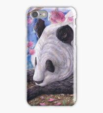 Lazy Panda iPhone Case/Skin