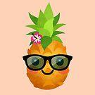 Glückliche Ananas von daisy-beatrice
