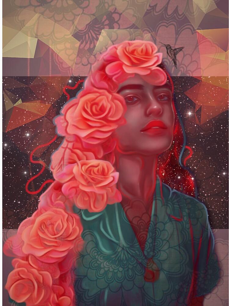 Flower spell by veuliahzg
