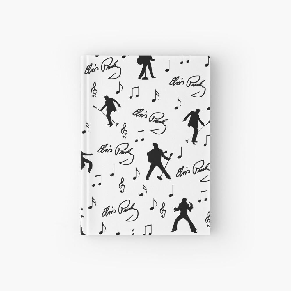 Elvis Presley pattern Hardcover Journal