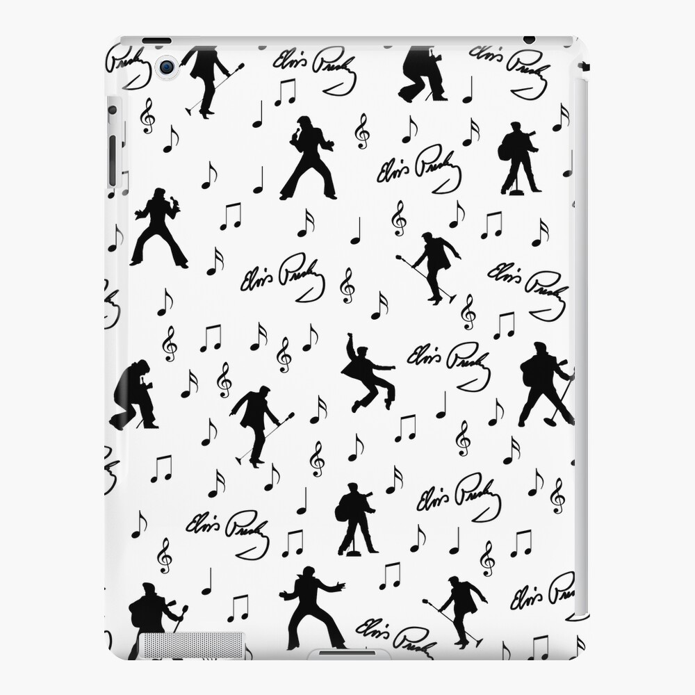 Elvis Presley pattern iPad Case & Skin