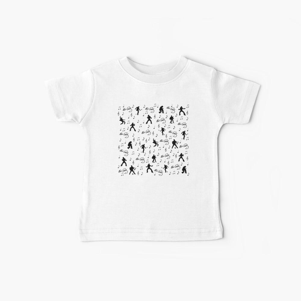 Elvis Presley pattern Baby T-Shirt