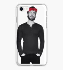 Chris Evans - Flowercrown iPhone Case/Skin