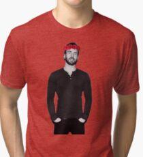 Chris Evans - Flowercrown Tri-blend T-Shirt