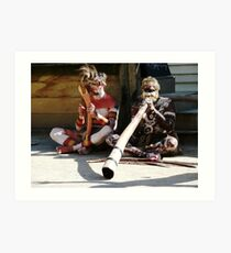Native Australians Art Print
