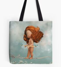 Frayed Knot Tote Bag