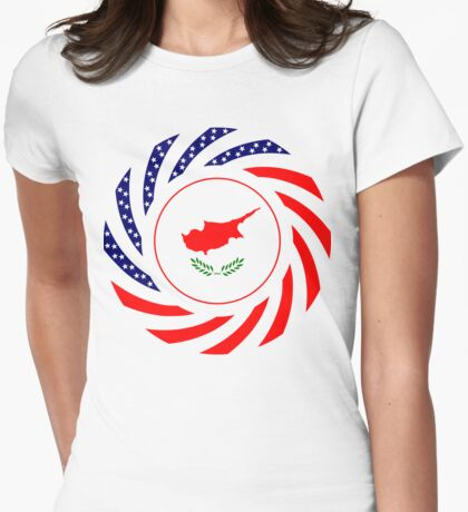 Cypriot American Multinational Patriot Flag Series T-Shirt