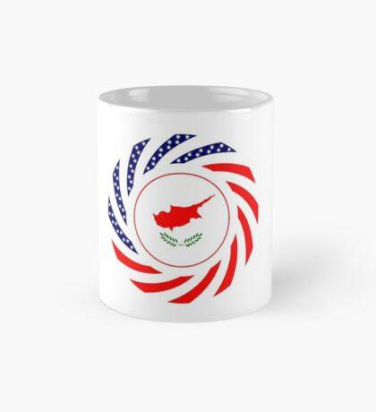 Cypriot American Multinational Patriot Flag Series Mug