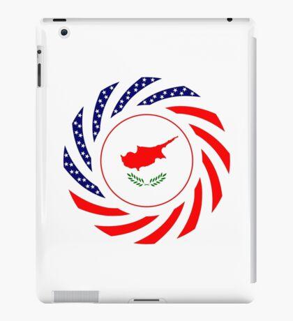 Cypriot American Multinational Patriot Flag Series iPad Case/Skin