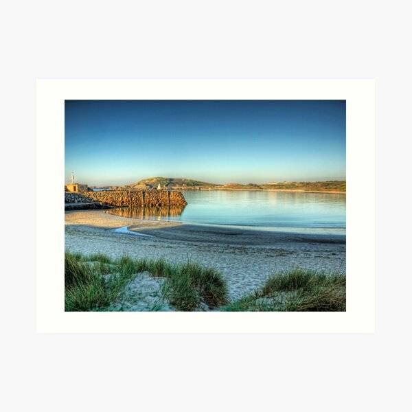 Douglas Quay - Alderney Art Print
