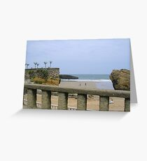 biarritz Greeting Card