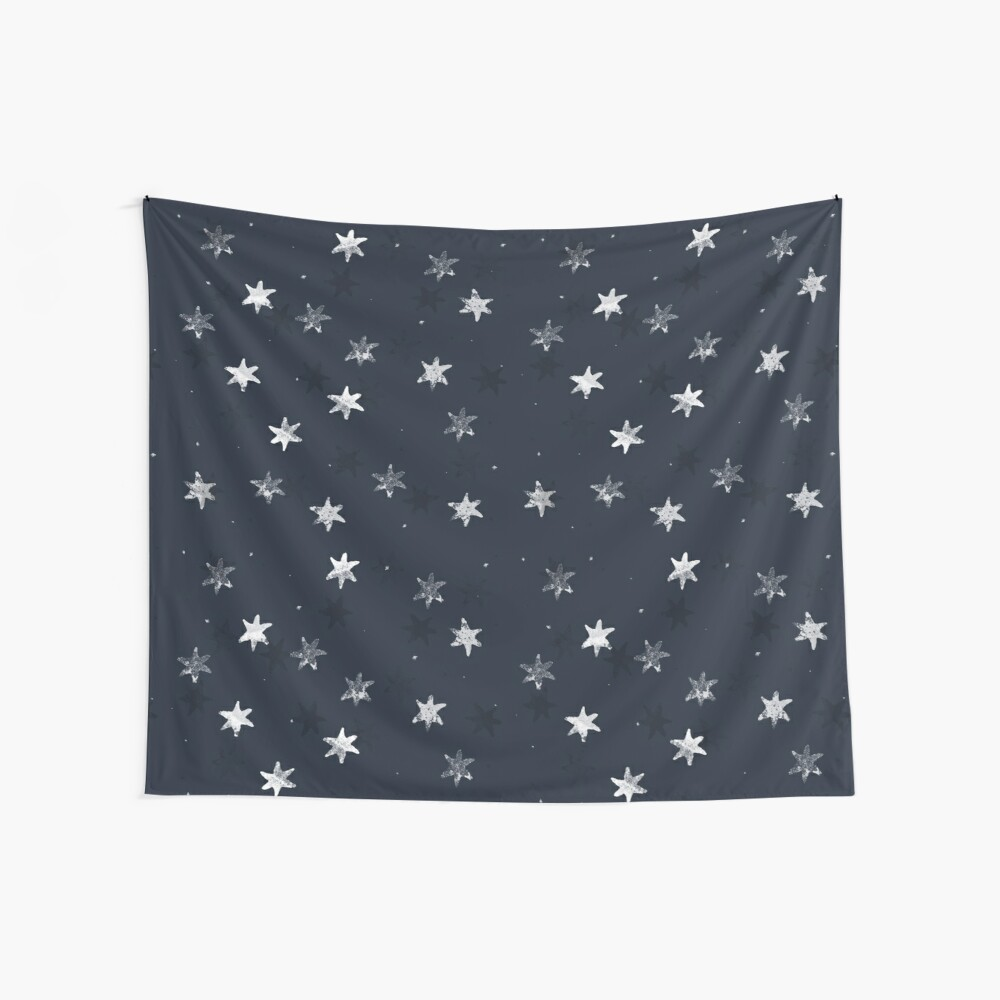 Stamped Star Wall Tapestry