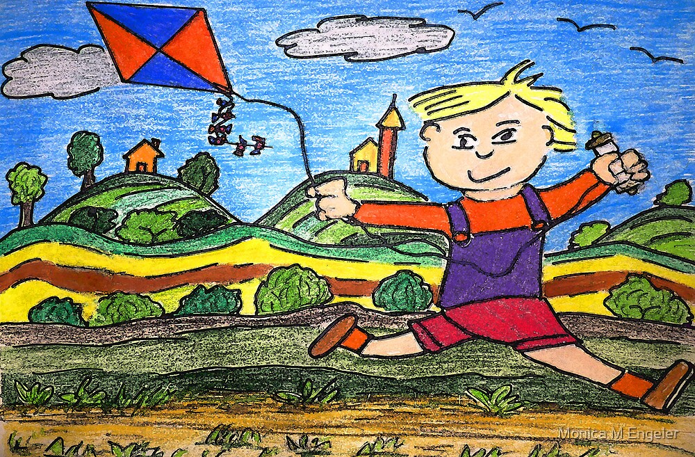 Go Fly A Kite by Monica Engeler