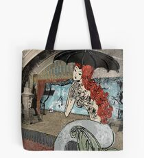 Girl with the birdie tattoo Tote Bag