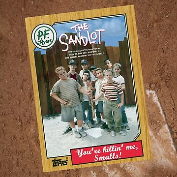 The Sandlot Movie Poster Card by Tomreagan