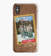 The Sandlot Movie Poster Card iPhone Case