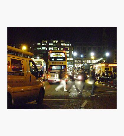 Night in the City (Edinburgh) Photographic Print