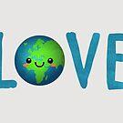 Earth Love - Europa und Afrika von daisy-beatrice